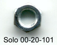 Solo 00-20-101 Hex Nut