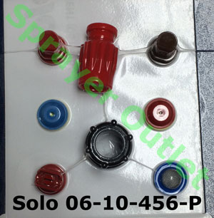 Solo 49-00-207 Brass Adjustable Spray Nozzle