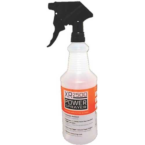 Heavy Duty 32 oz Spray Bottle <br>with extra long trigger
