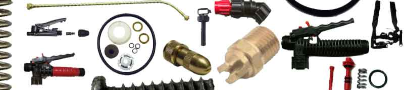 Ortho sprayer parts